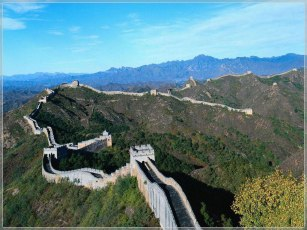 Great Wall of China view
