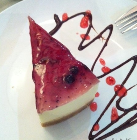 La Casbah Shanghai Strawberry Cheesecake