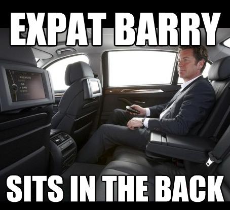 Expat man