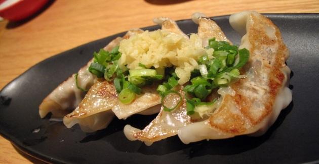 Jiao zi dumplings Ippudo Shanghai