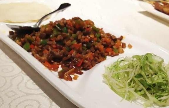 Xinjiang meat wraps