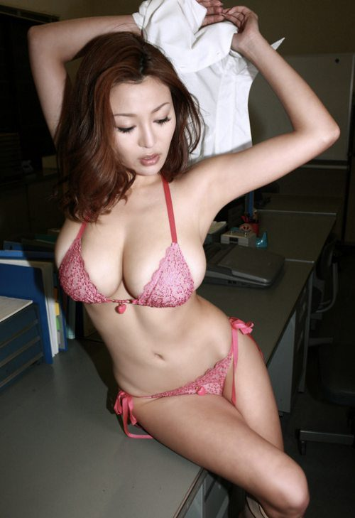Weather Warming Hot Asian Girls  Developing City-8042