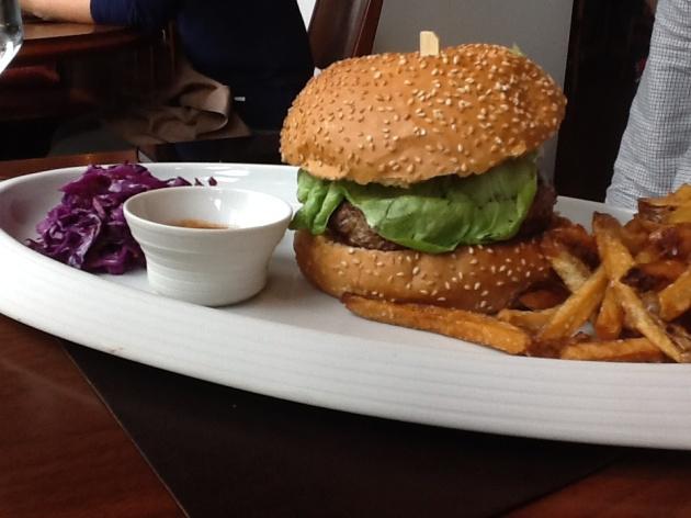 Wagyu burger Shanghai
