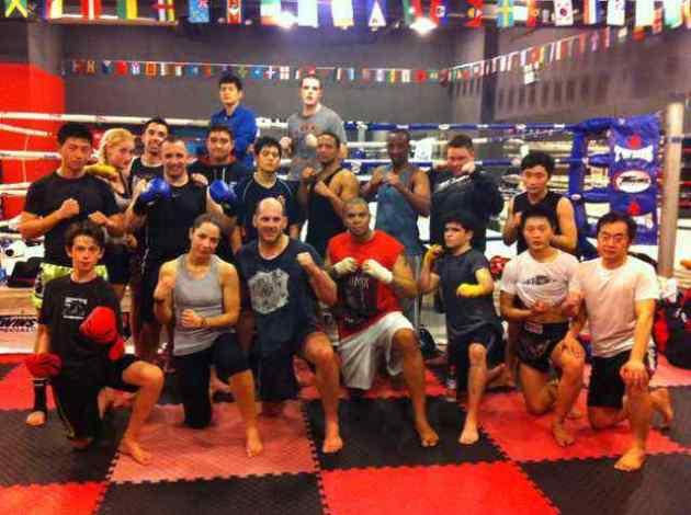 Martial Arts gym Shanghai
