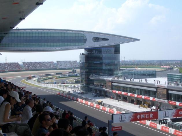 shanghai F1 tickets expat