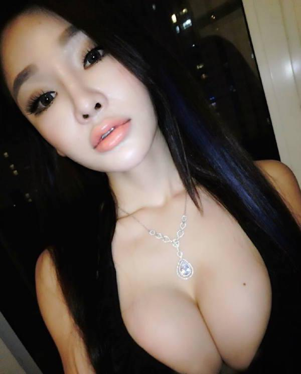 Hot boobs asian  escort